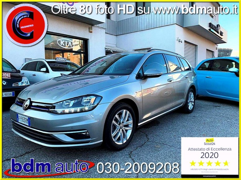 Volkswagen Golf Variant 1.4 TGI DSG Business BlueMotion METANO Grigio